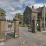 Droylsden Cemetery main gate