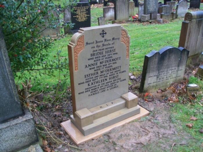gravestone renovation