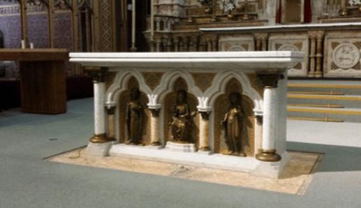 Weld Blundell altar